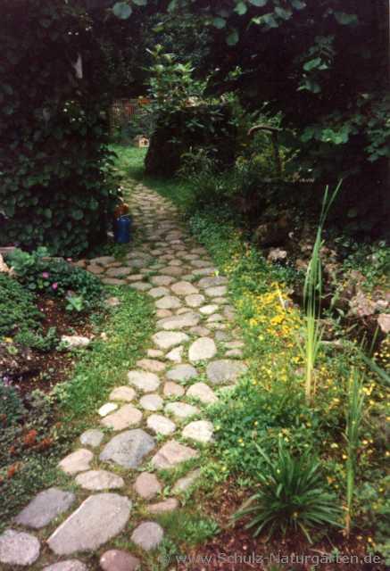 Michael schulz naturgerechte gartengestaltung for Gartengestaltung wege